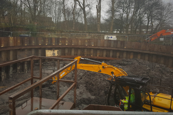 Shaft Sinking project at Avonspark Street 3