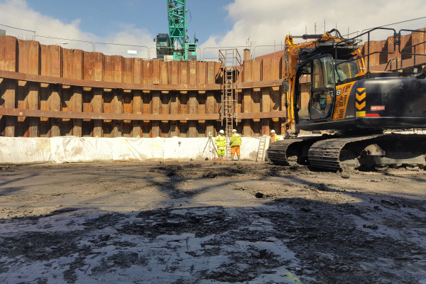 Shaft Sinking project at Avonspark Street 4