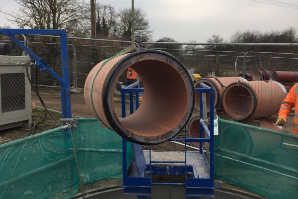 Guided Auger Boring Project Wokingham 15