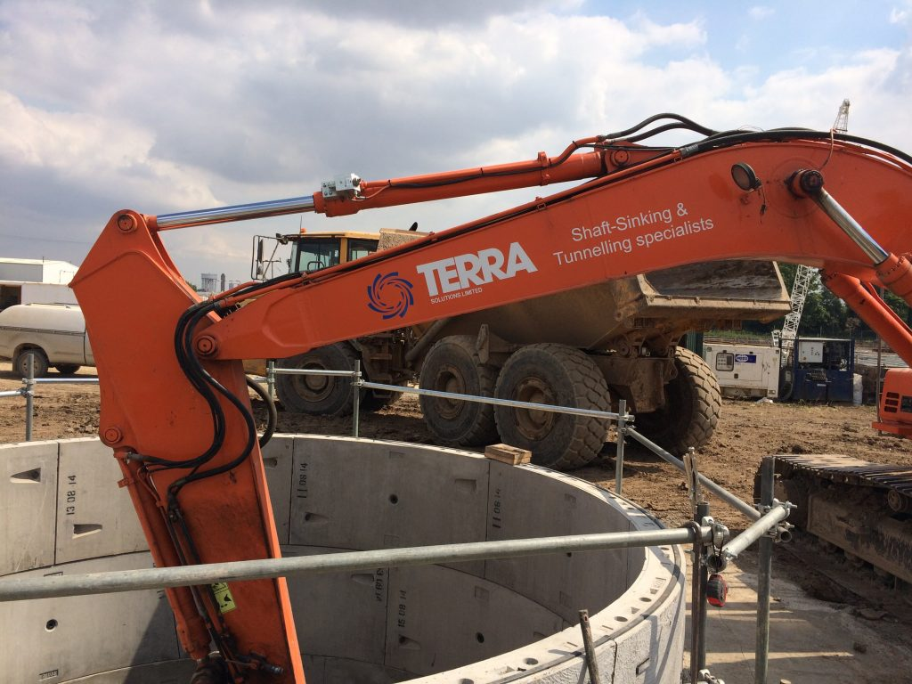 Terra Solutions are Shaft Sinking Contractors UK