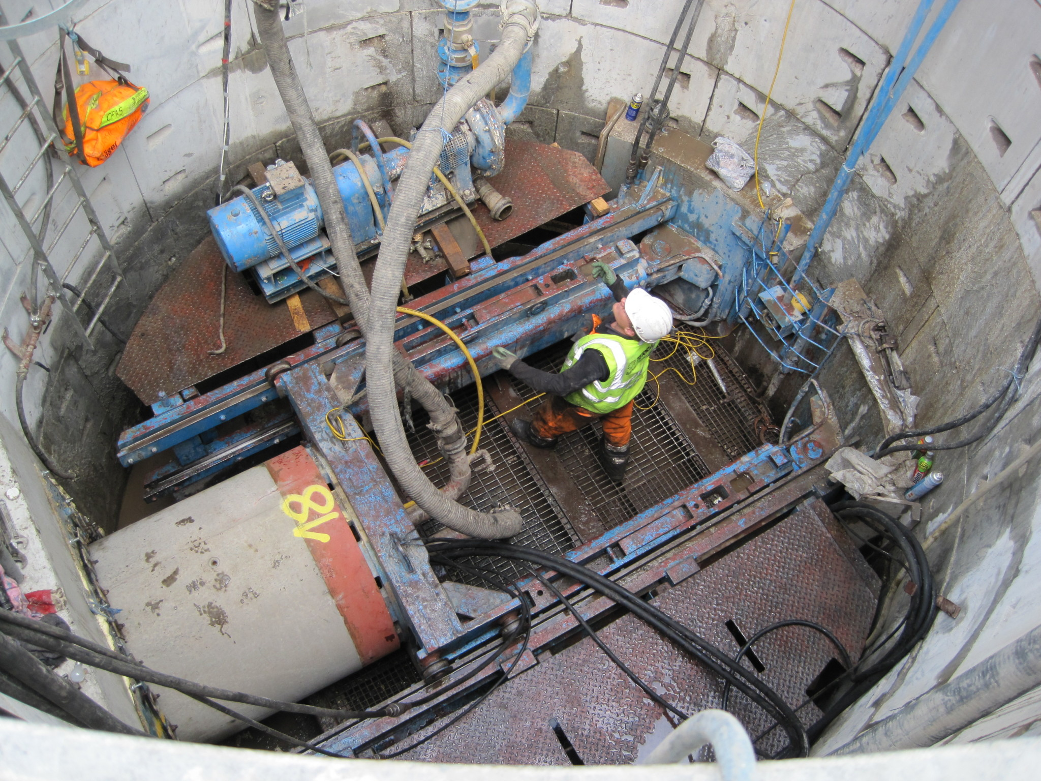 Market Street Microtunnelling Project 2
