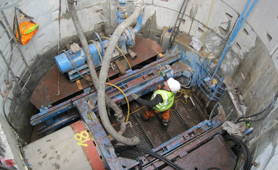 Market Street Microtunnelling Project