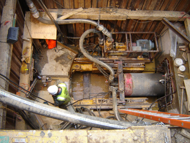 Pease Pottage Microtunnelling Project