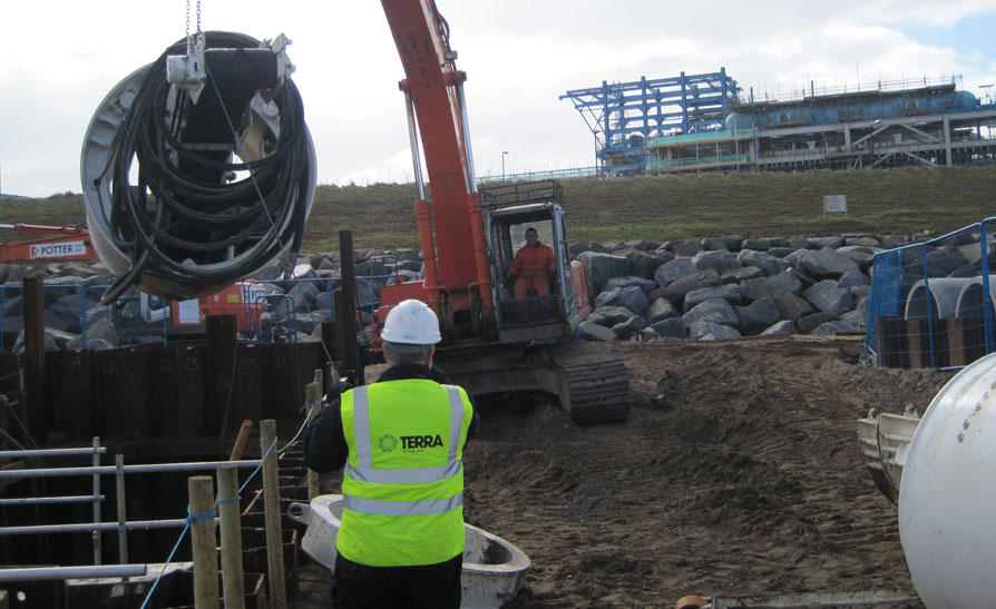 Easington Gas Terminal – Pipejacking Project