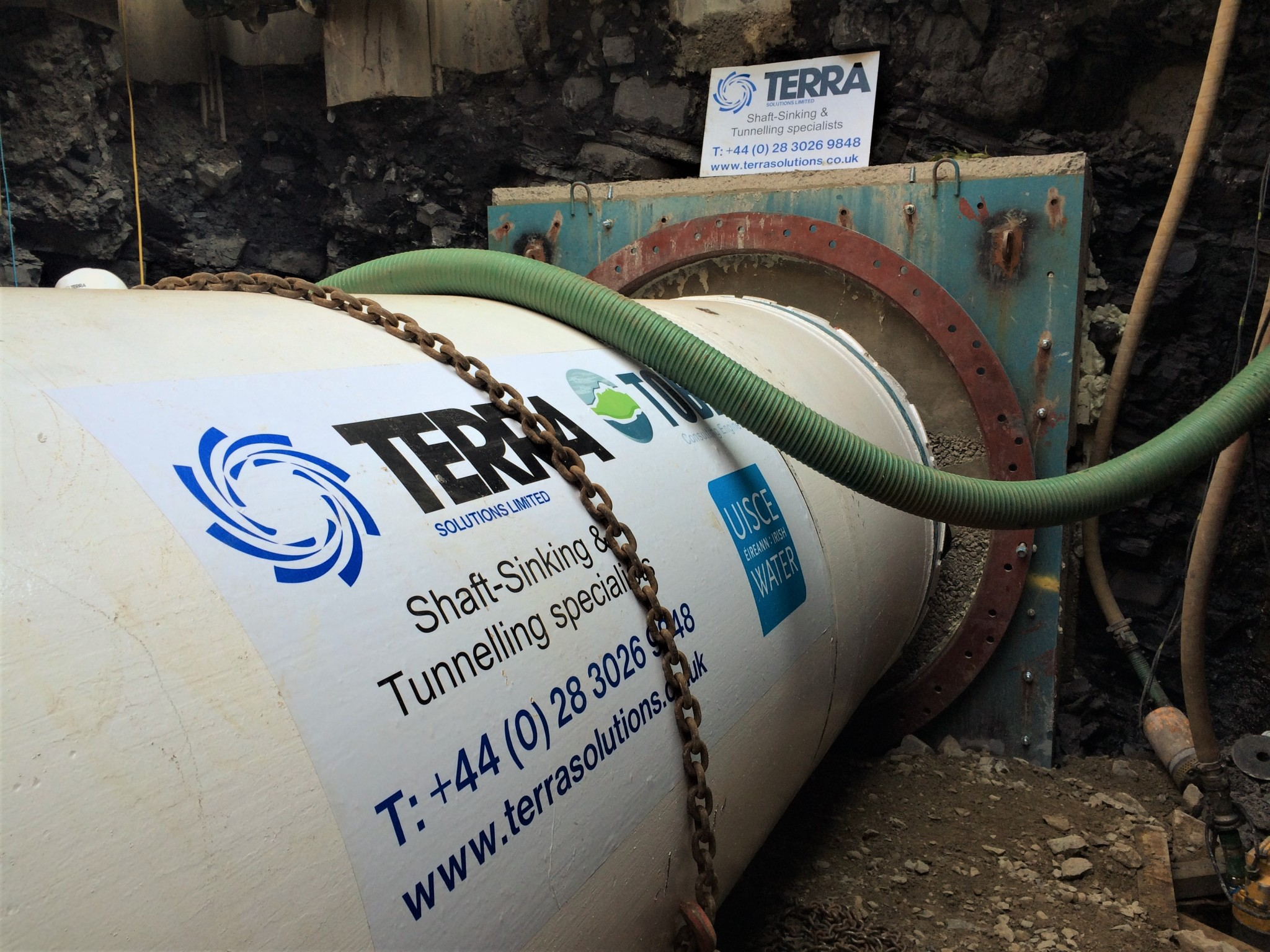 North Leixlip Sewerage Scheme - Microtunnelling, Pipejacking, Horizontal Directional Drilling 1