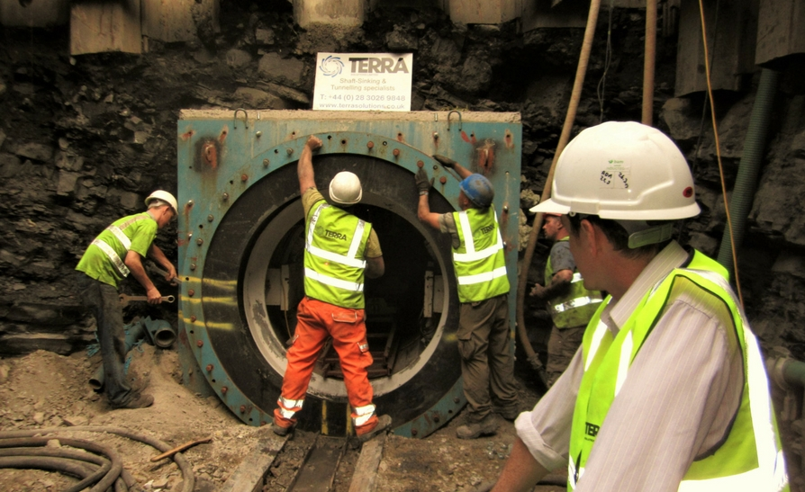 Leixlip Sewerage Scheme – Microtunnelling Project