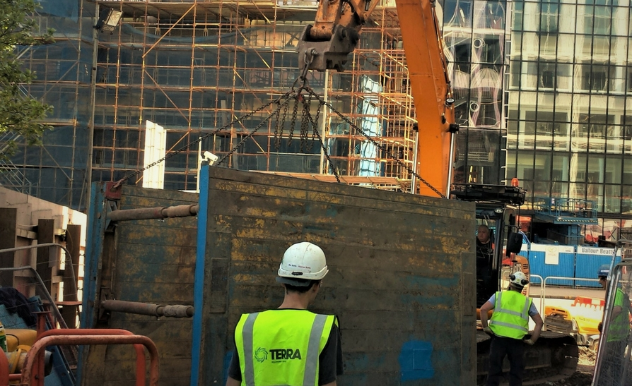 Cathedral Street Glasgow – Timberheading Project