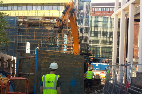Cathedral Street Timberheading