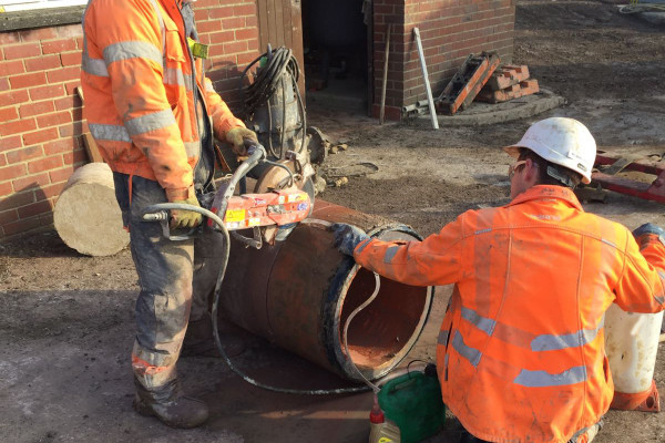 Guided Auger Boring Project Wokingham 20