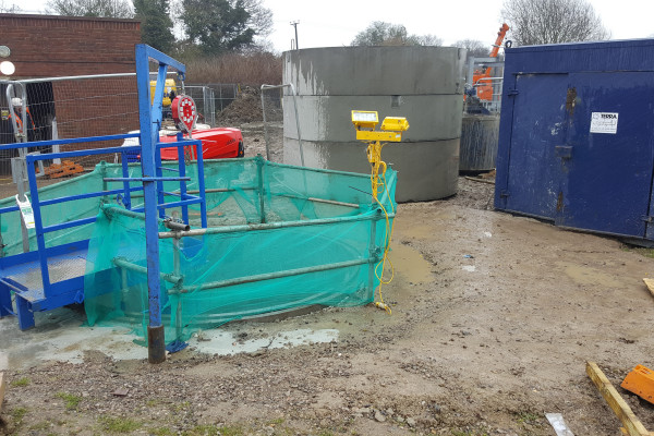 Guided Auger Boring Project Wokingham 6