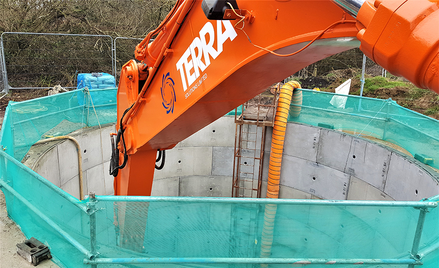 Yeovil Pumping Station – Shaft Sinking Project