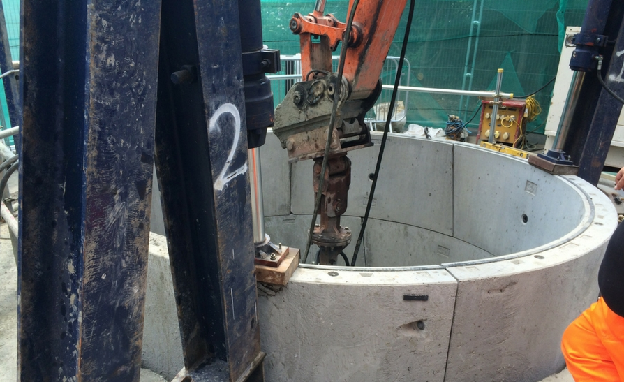 Crabtree Road – Shaft Sinking Project